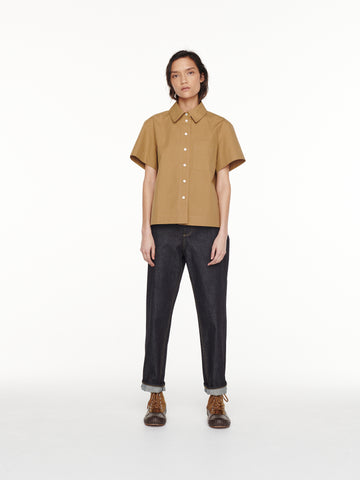 Capuchin Shirt In Almond