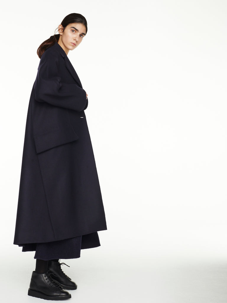Christensen Coat In Dark Navy