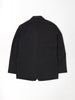 Conde Jacket In Black Tropical Wool