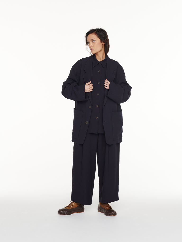 Conde Jacket in Dark Navy