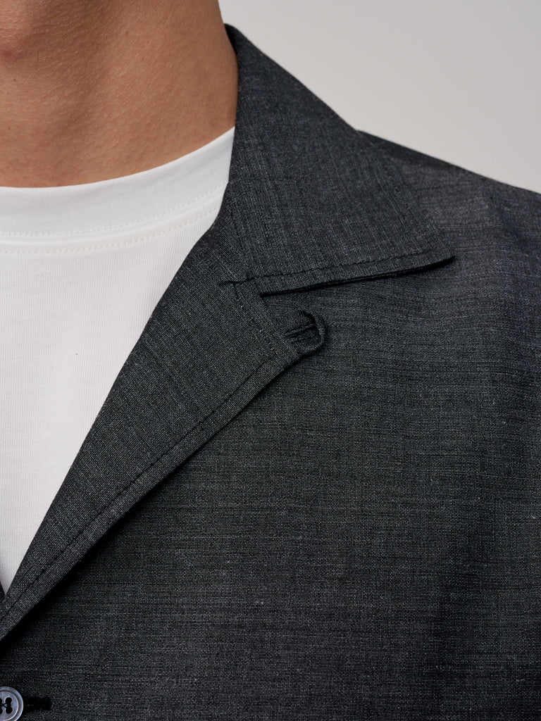 Calico Shirt Slate Grey - Studio Nicholson