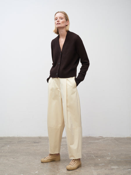 Chi Pant In Cream - Studio Nicholson