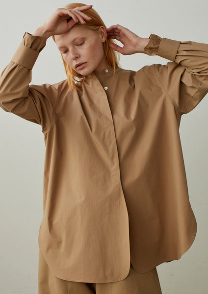 Circle Shirt In Tan