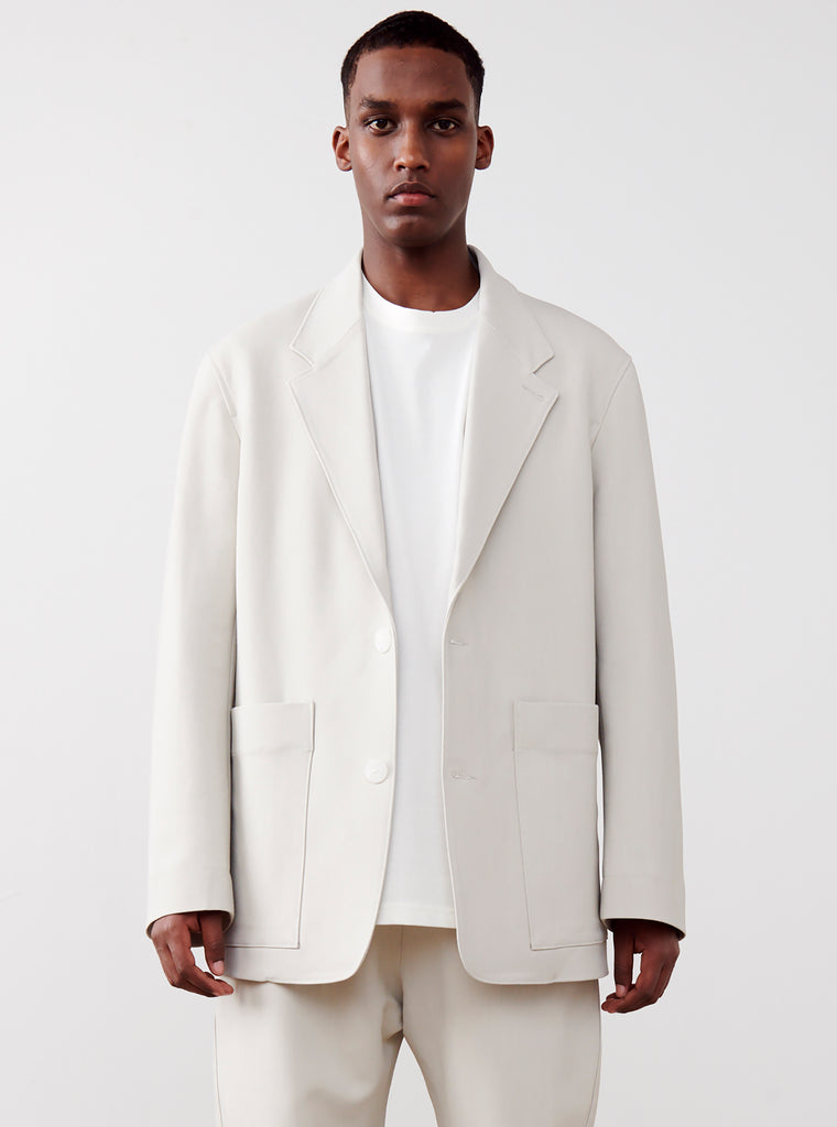 Conde Jacket In Bone - Studio Nicholson