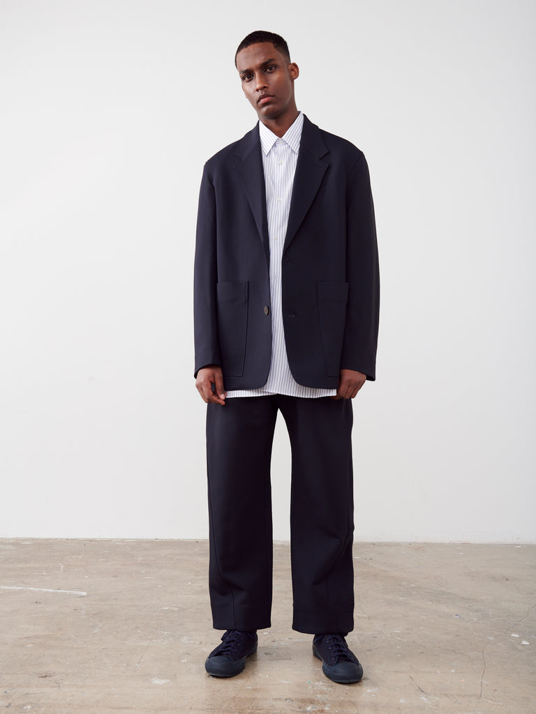 Conde Jacket In Dark Navy - Studio Nicholson