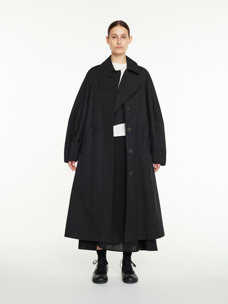 Tadao Coat In Black