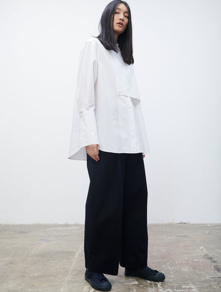 Donde Shirt In Optic White - Studio Nicholson