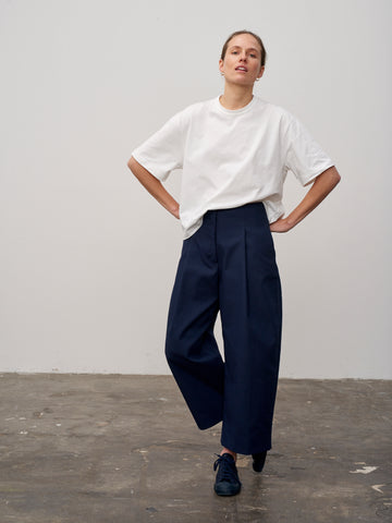 Dordoni Pant In Dark Navy