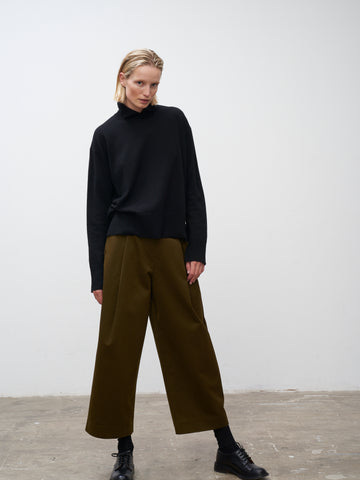 Dordoni Volume Pant In Olive