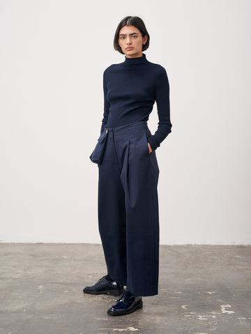 Double Pant In Dark Navy