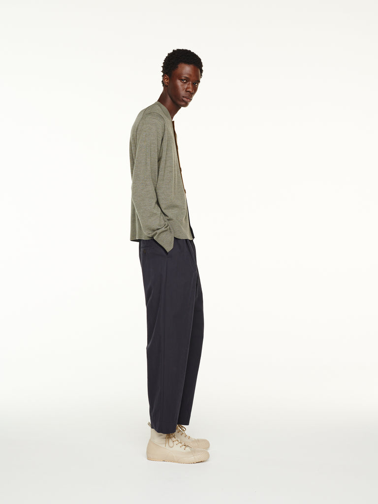 Gentile Pant in Dark Navy Sporty Cotton
