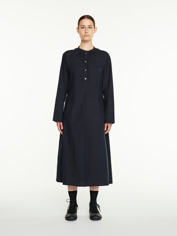 Hansol Shirt Dress In Navy