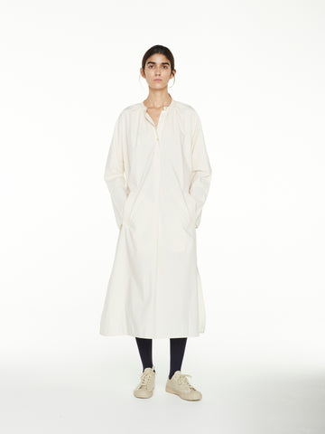 Hansol Shirt Dress In Milk