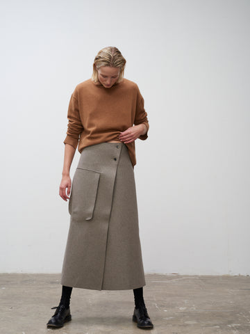 Hiro Skirt In Light Brown