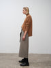 Hiro Skirt In Light Brown - Studio Nicholson