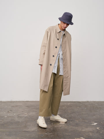 Jarvis Raincoat In Bone