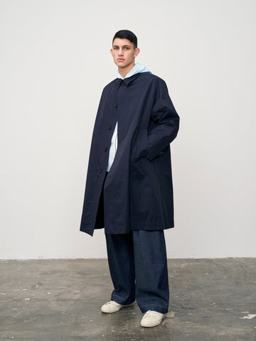 Jarvis Raincoat In Dark Navy