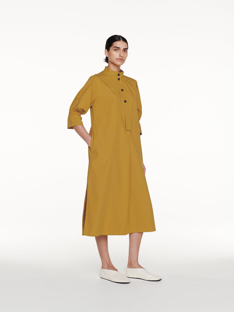 Knoll Dress in Tobacco