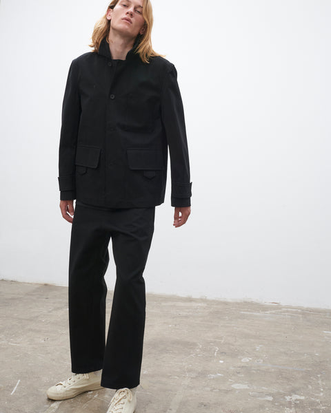 Koku Jacket In Black - Studio Nicholson