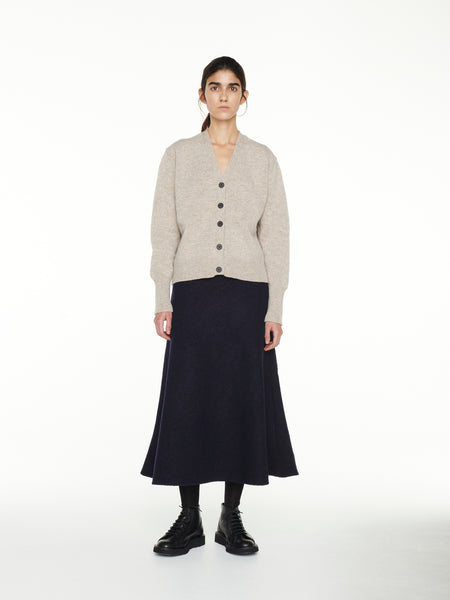 Lebon Skirt In Dark Navy