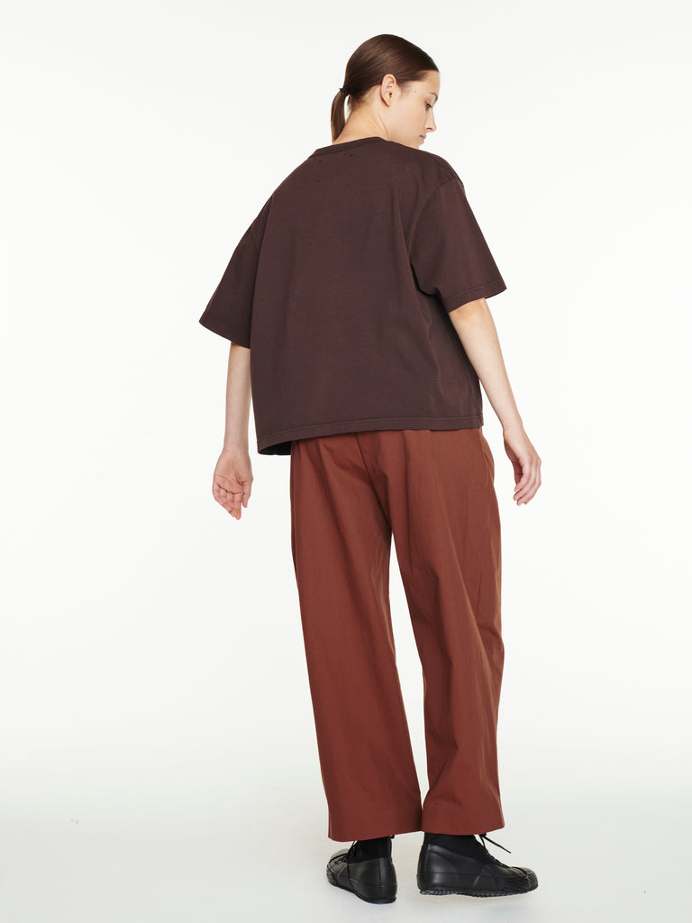 Dordoni Volume Pant In Truffle