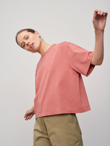 Lee T-Shirt In Medina Pink