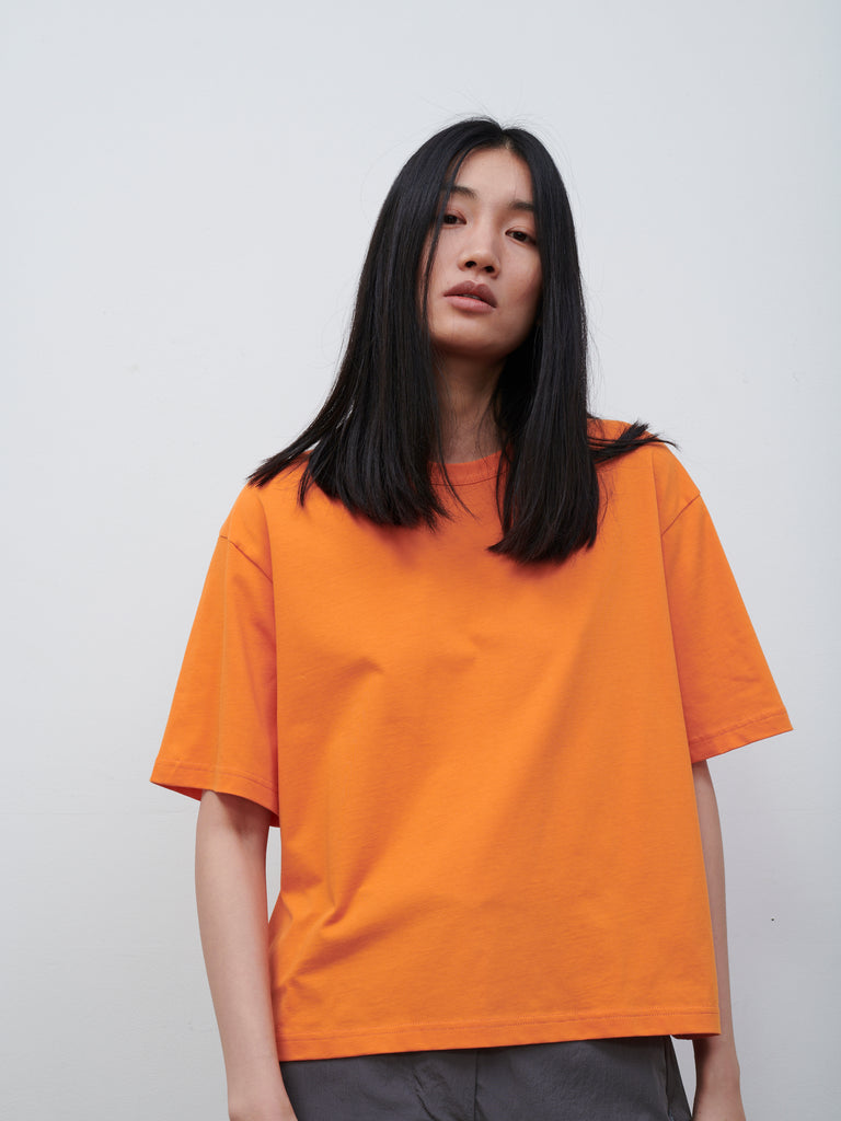 Lee T Shirt In Saffron - Studio Nicholson