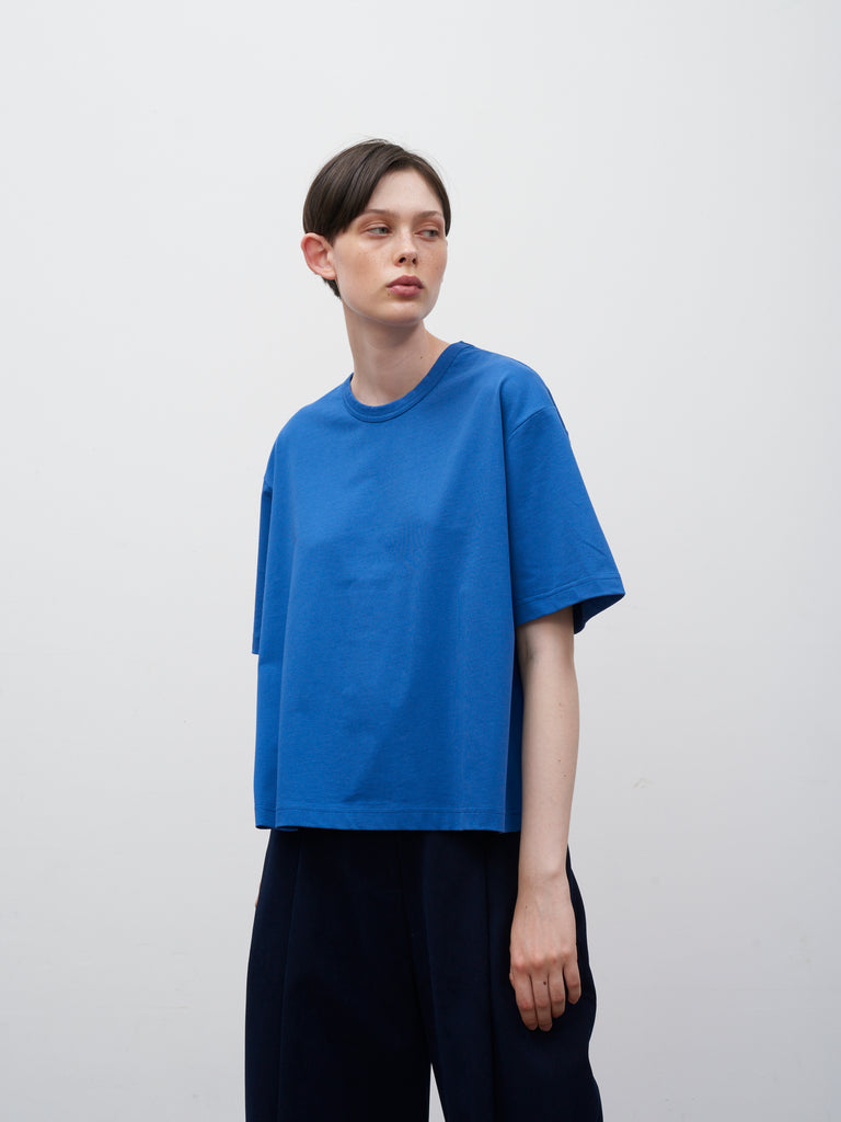 Lee T-Shirt In Klein Blue - Studio Nicholson