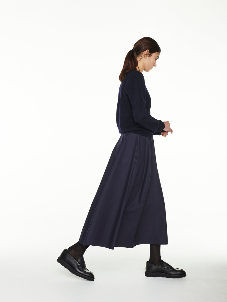Mason Skirt In Dark Navy