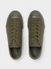 Merino Vulcanised Sole Canvas Shoe In Army