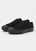 Merino Vulcanised Sole Canvas Shoe In Black - Studio Nicholson