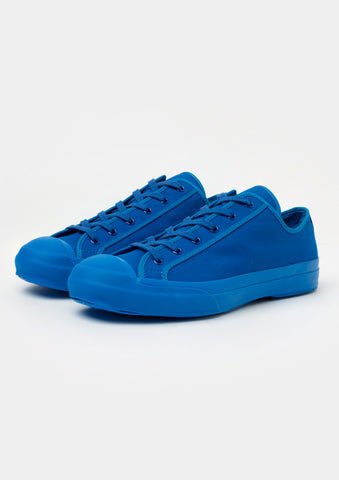 Merino Vulcanised Sole Canvas Shoe In Klein Blue