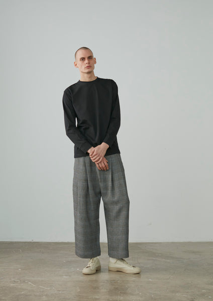 Studio Nicholson Bunch Pant In Prince of Wales Check