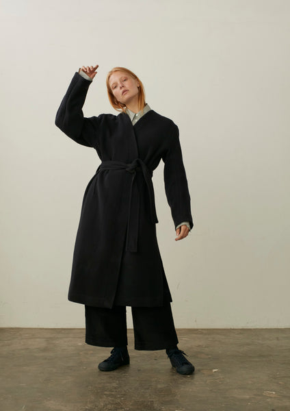 Maselli Coat In Navy