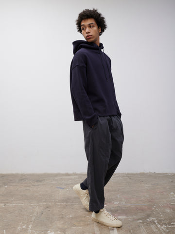 SNJP MATSUMOTO Hooded Sweatshirt in Dark Navy