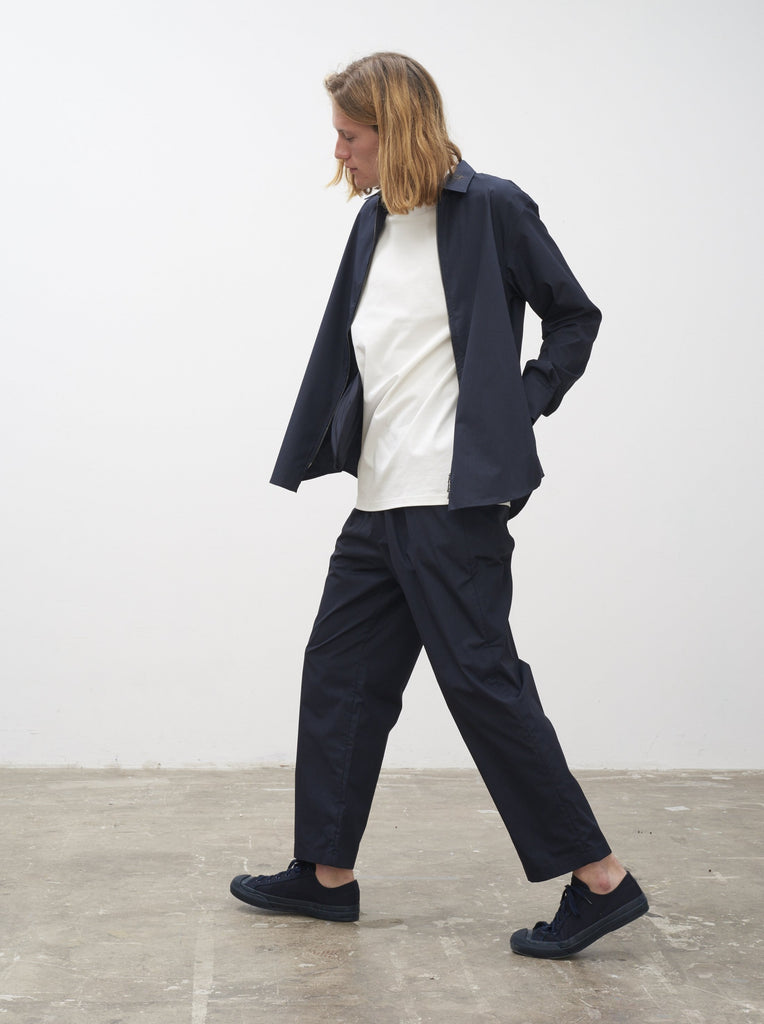 Micro Pant In Dark Navy - Studio Nicholson