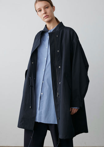 Momo Parka In Dark Navy Ventile
