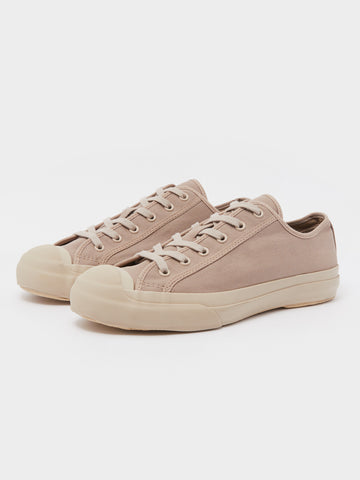 Merino Vulcanised Sole Canvas Shoe In Mushroom
