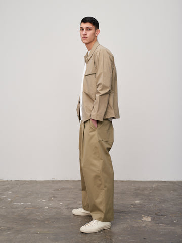 Morales Overshirt In Khaki