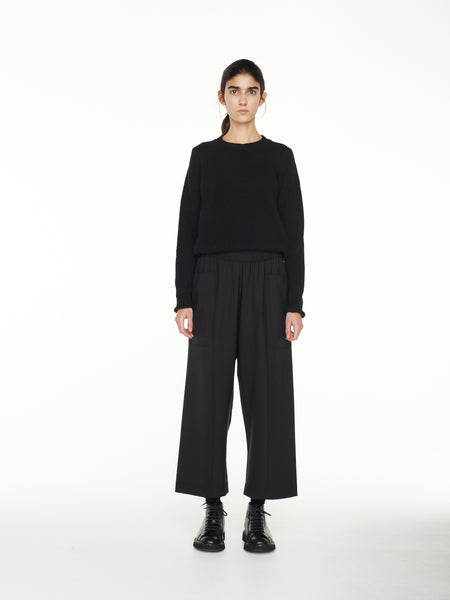 North Pant In Black Wool