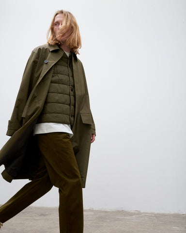 Nymil Car Coat In Olive