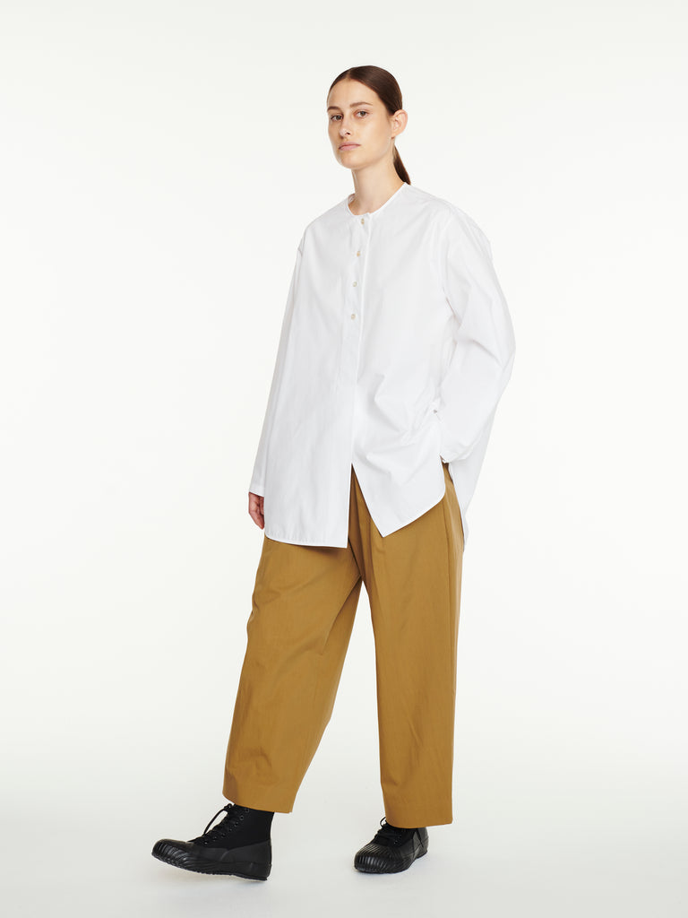 Dordoni Volume Pant In Almond