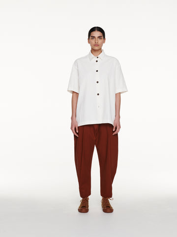 Piero Shirt in Milk Linen