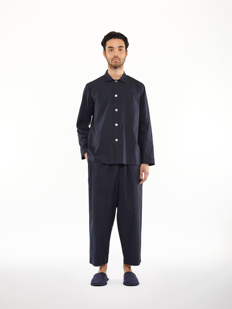 PJ Pant Set in Dark Navy