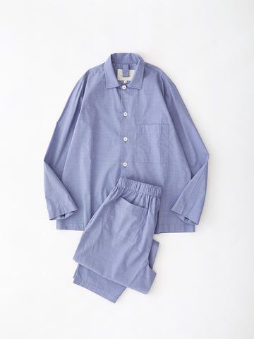 PJ Pant Set in Mid-Blue