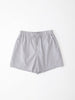 PJ Short Pack in Grey and White Candy Stripe