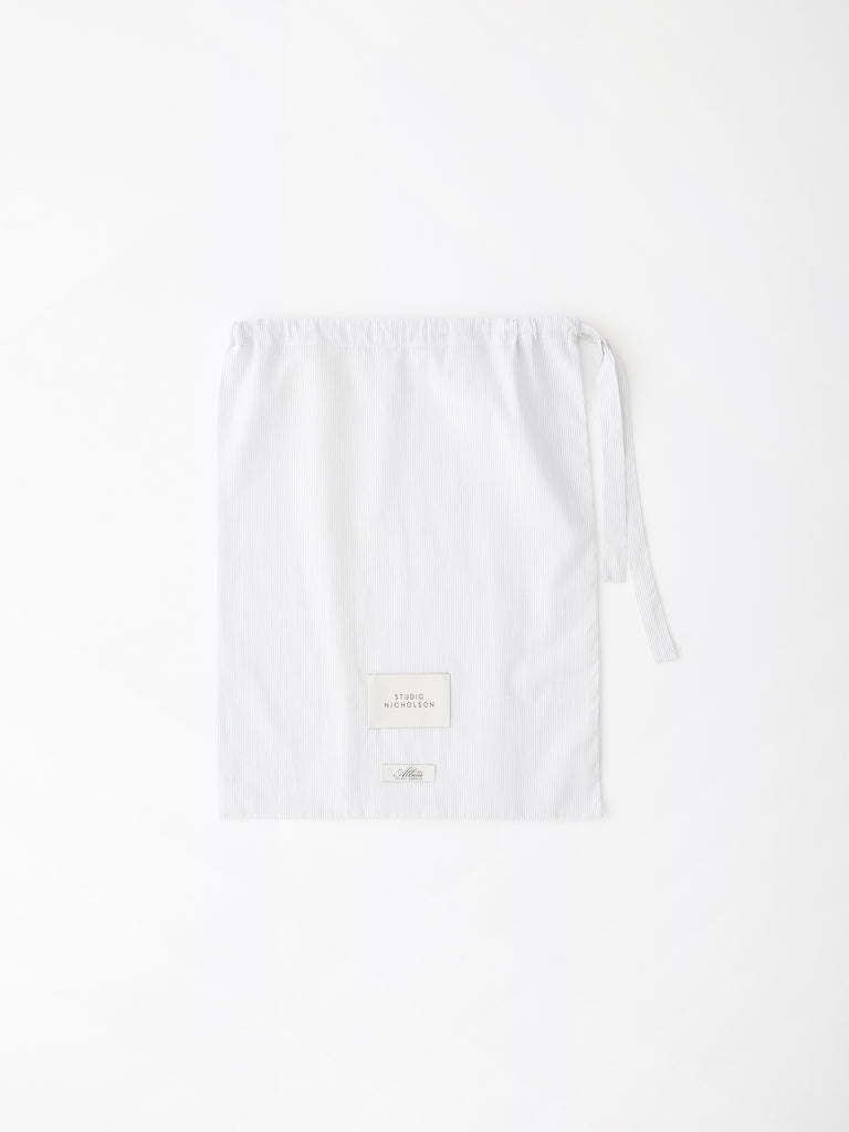 PJ Short Pack in Grey and White Fine Stripe