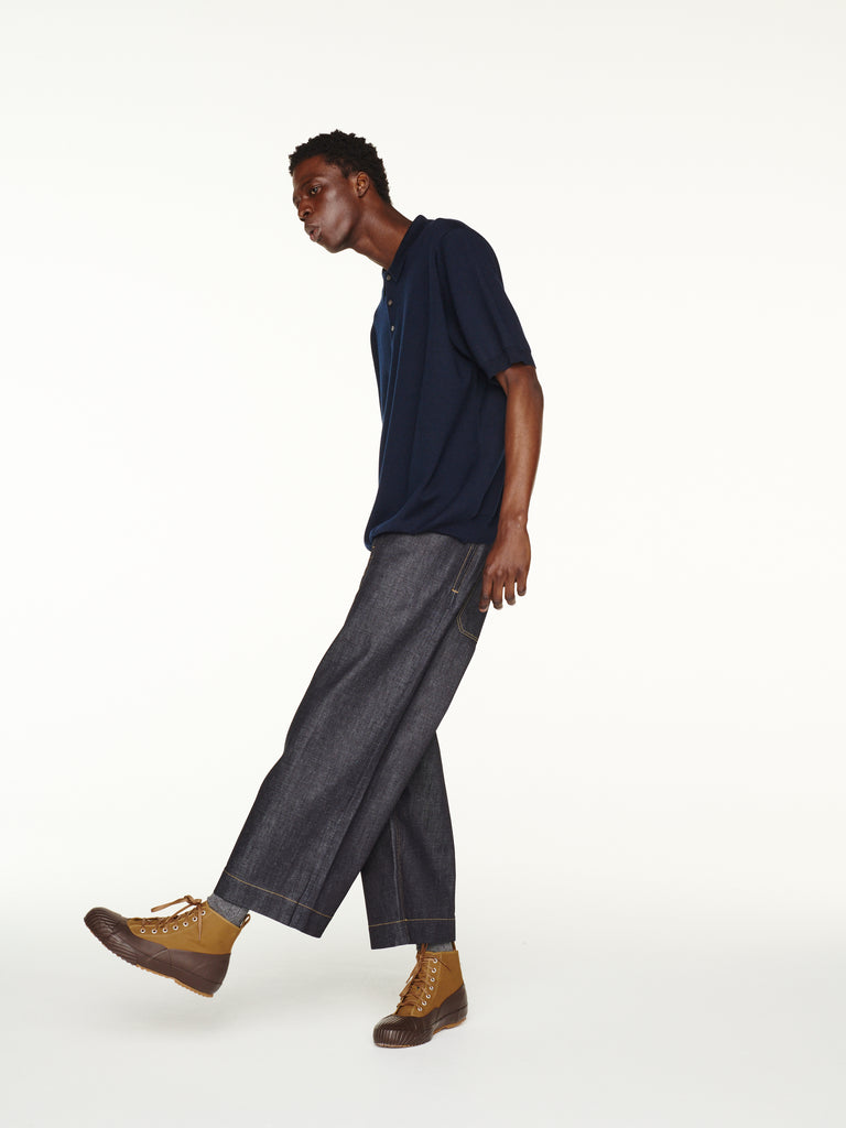 Pyad Pant In Selvedge Denim Indigo