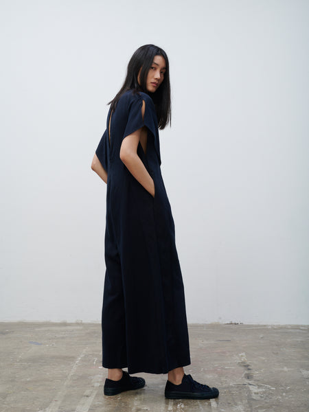 Pani One Piece In Dark Navy - Studio Nicholson
