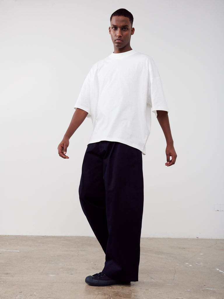 Piu T-Shirt In Winter White - Studio Nicholson